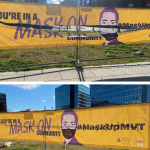 Props to MVT Resident for Supporting Mask-Wearing Campaign